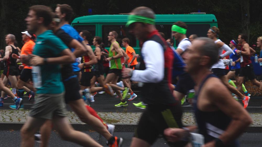 Berlin marathon, 2