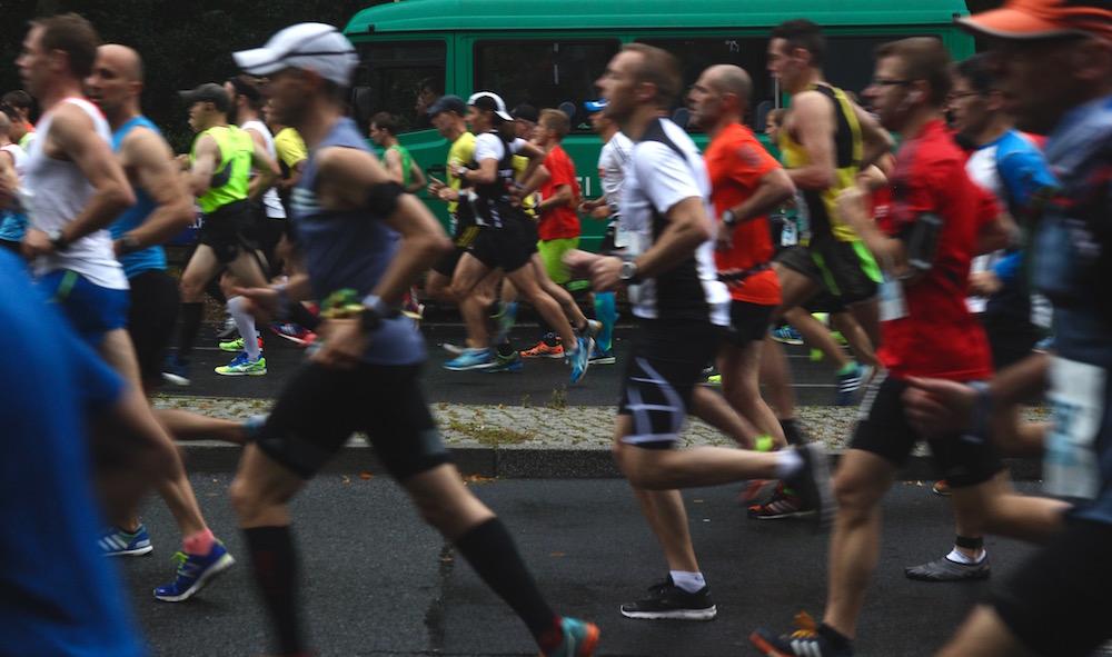 Berlin marathon, 1