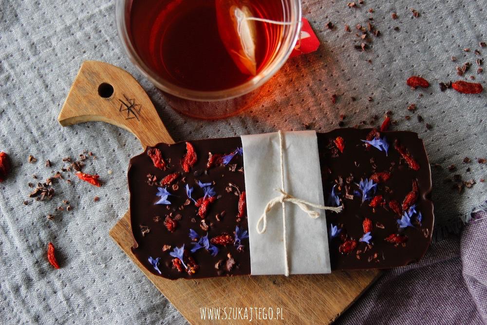 raw czekolada